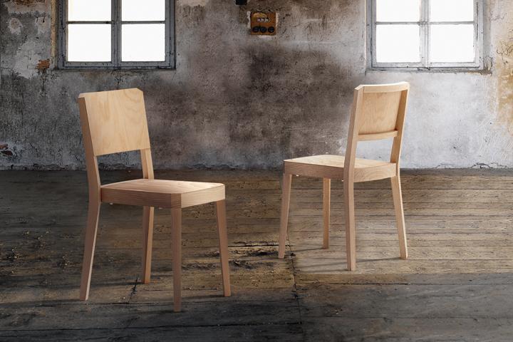 Деревянные штабелируемые стулья