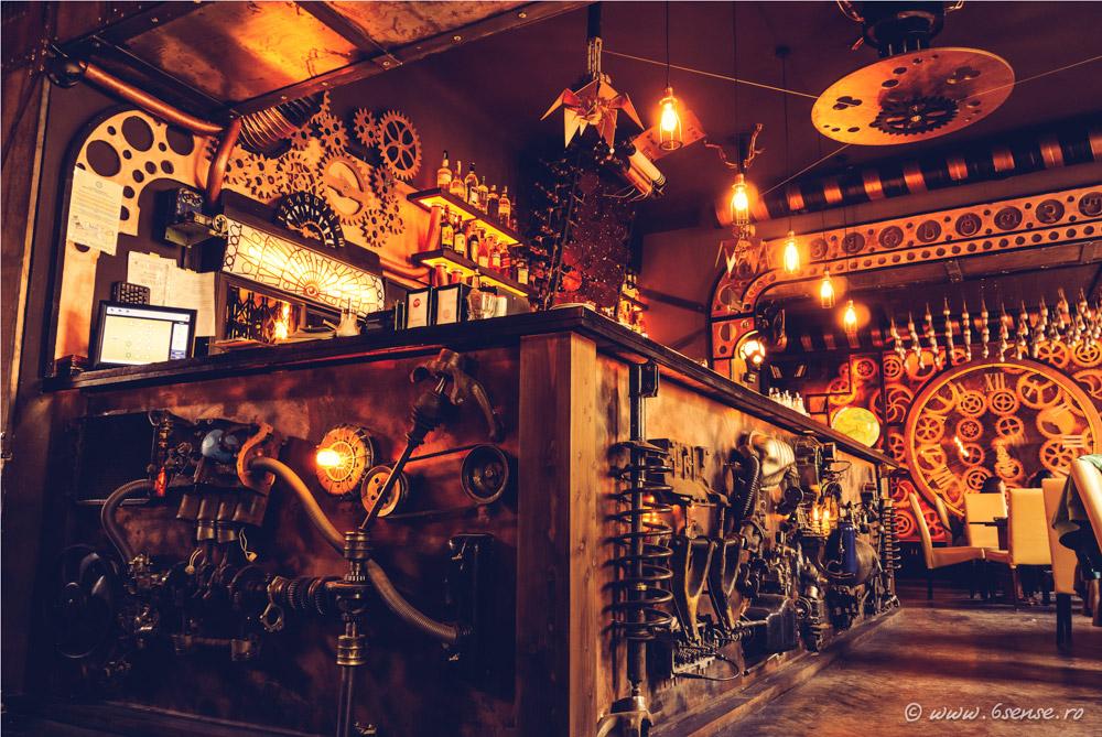 Enigma steampunk cafe in romania unleasheskineticenergy