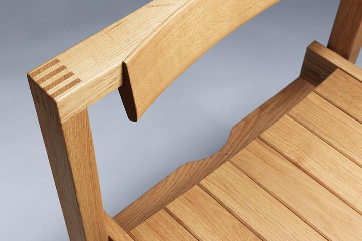 Деревянная спинка стула