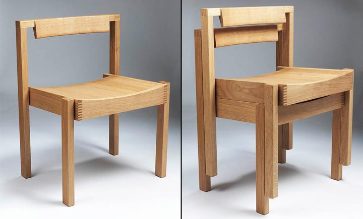 Практичные деревянные стулья