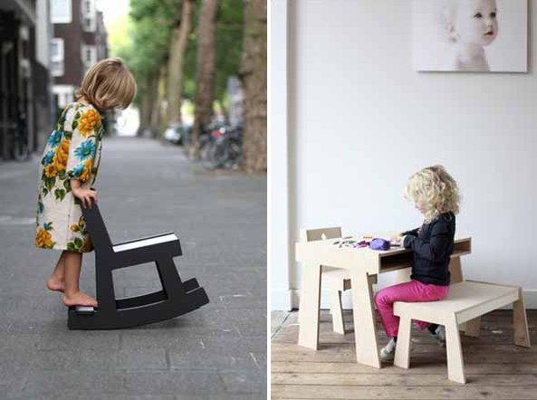 Детское кресло из фанеры