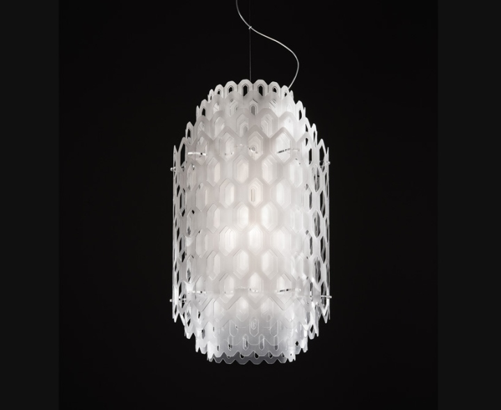Восхитительная стеклянная лампа из коллекции Chantal Light