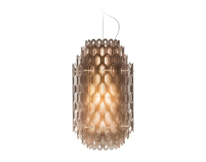 Яркая стеклянная лампа из коллекции Chantal Light
