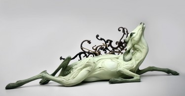 Глиняные скульптуры Бэт Кавенер Стичтер