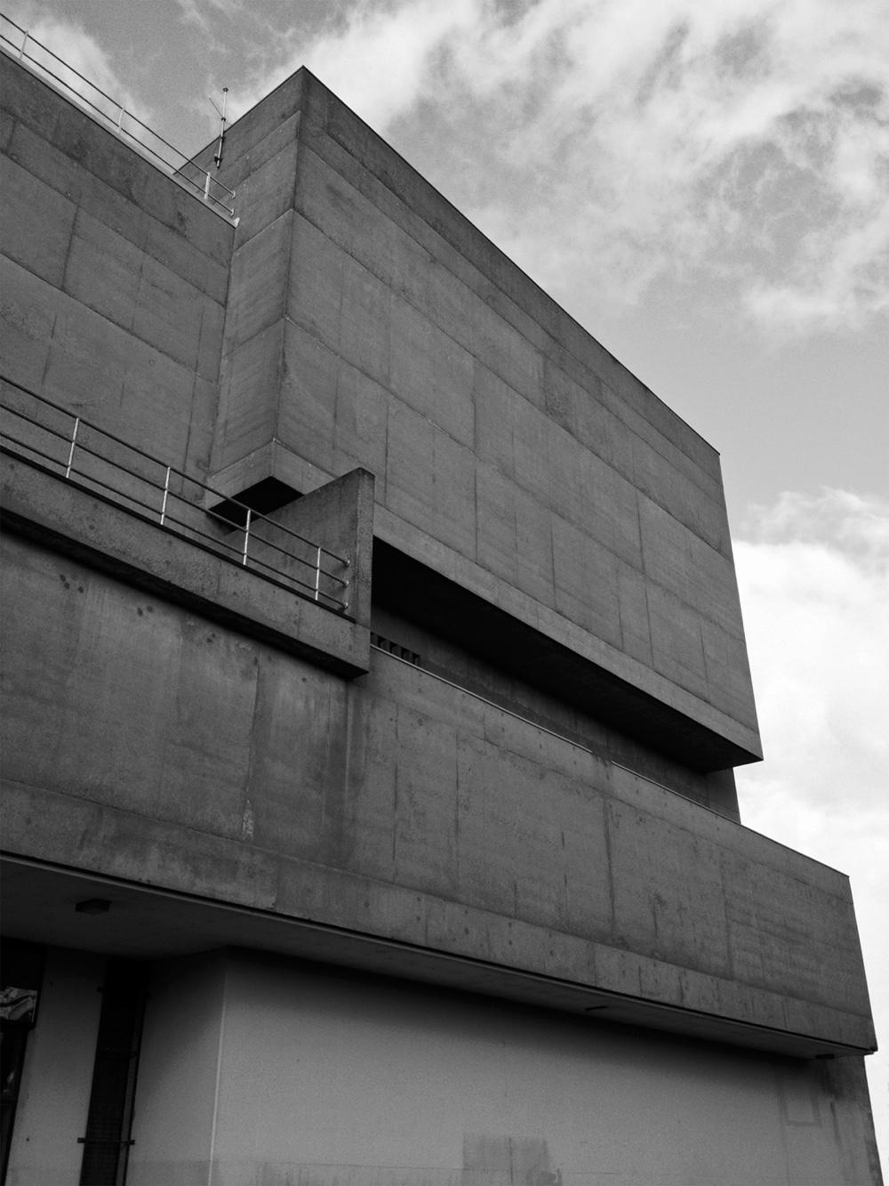 Брутализм в архитектуре - строгие геометрические формы Ulster Museum