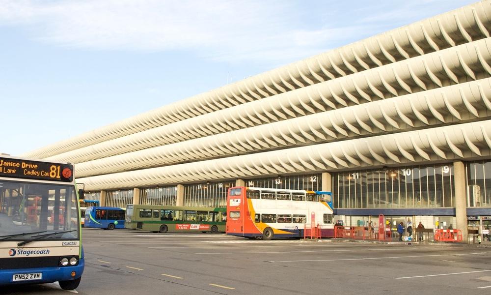 Брутализм в архитектуре - необычная конструкция балконов автовокзала в Престоне