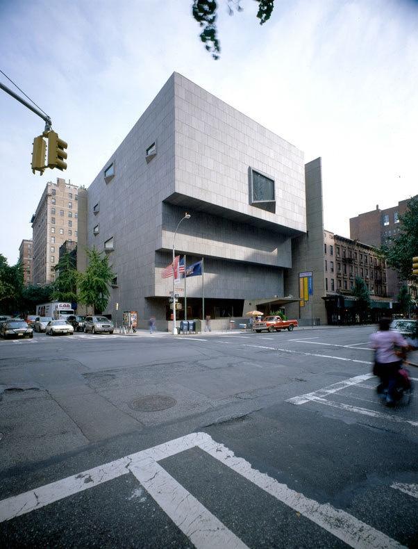 Брутализм в архитектуре - музей американского искусства Уитни