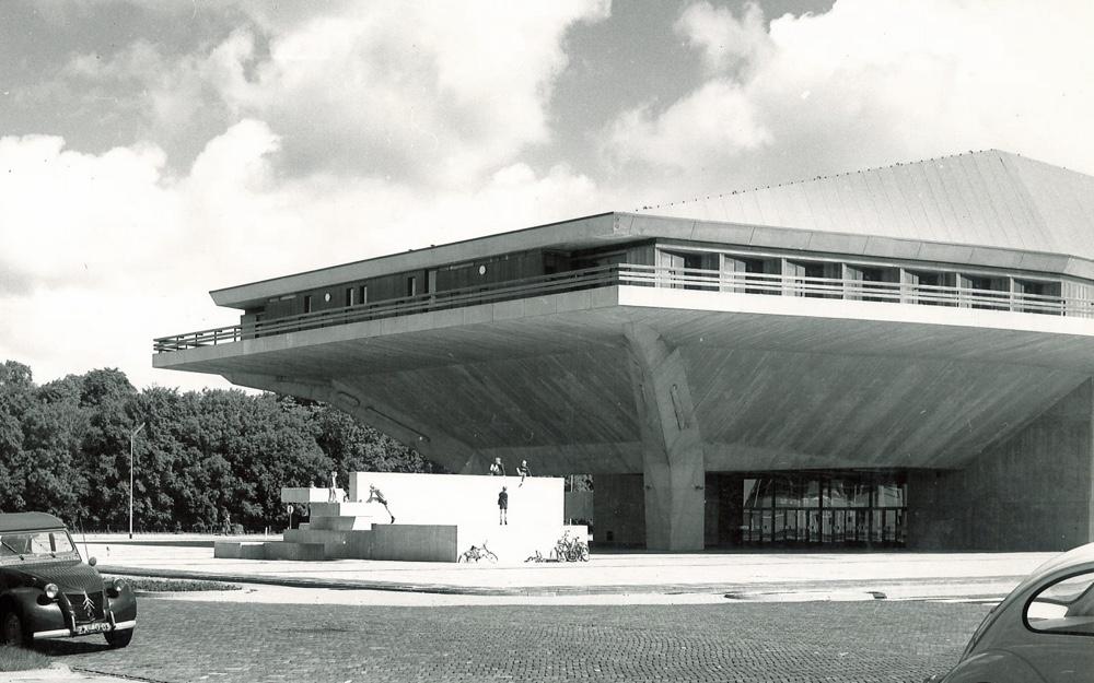 Брутализм в архитектуре - Делфтский технический университет в Нидерландах