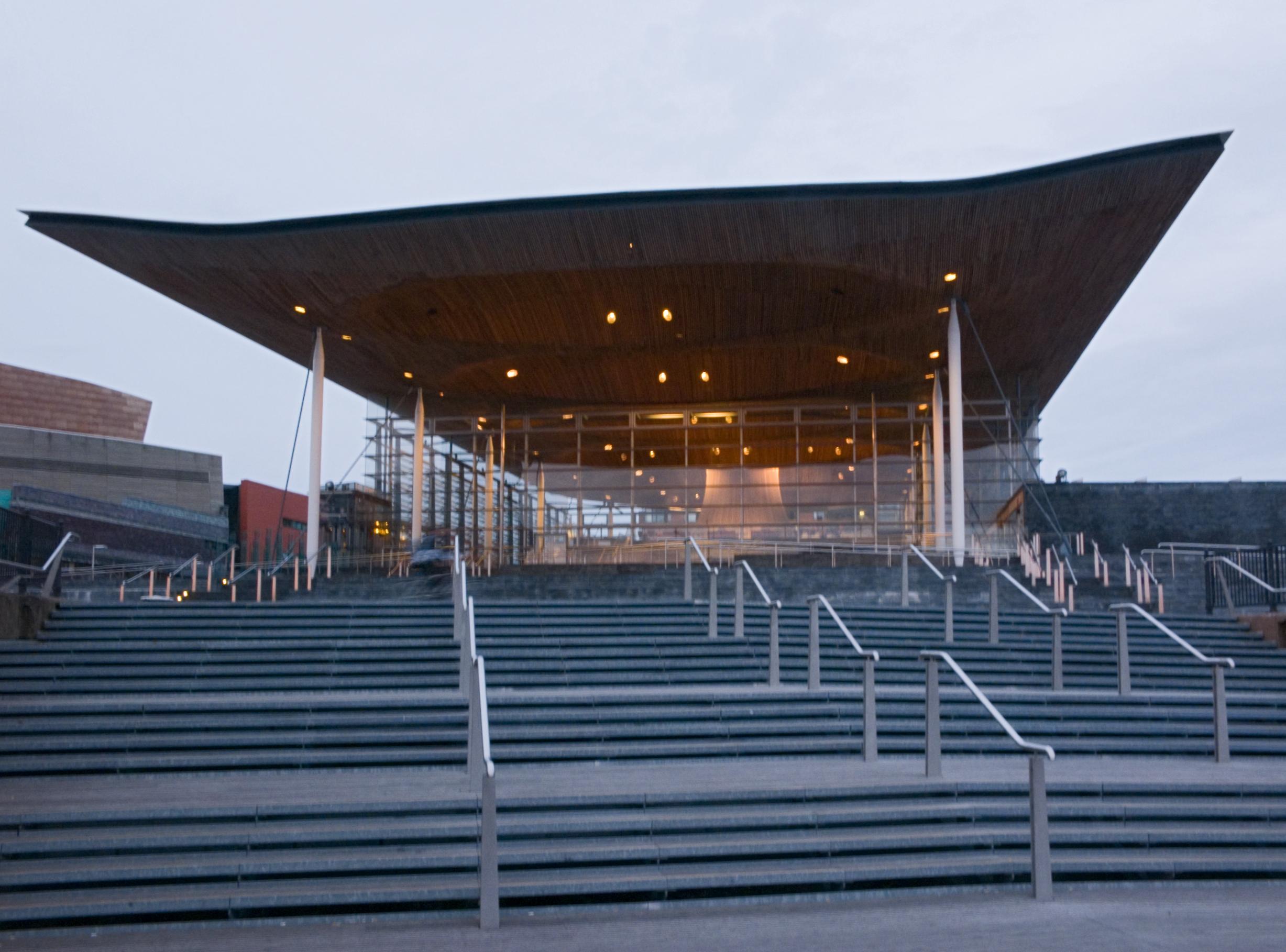 Стиль хай-тек в архитектуре Уэльса