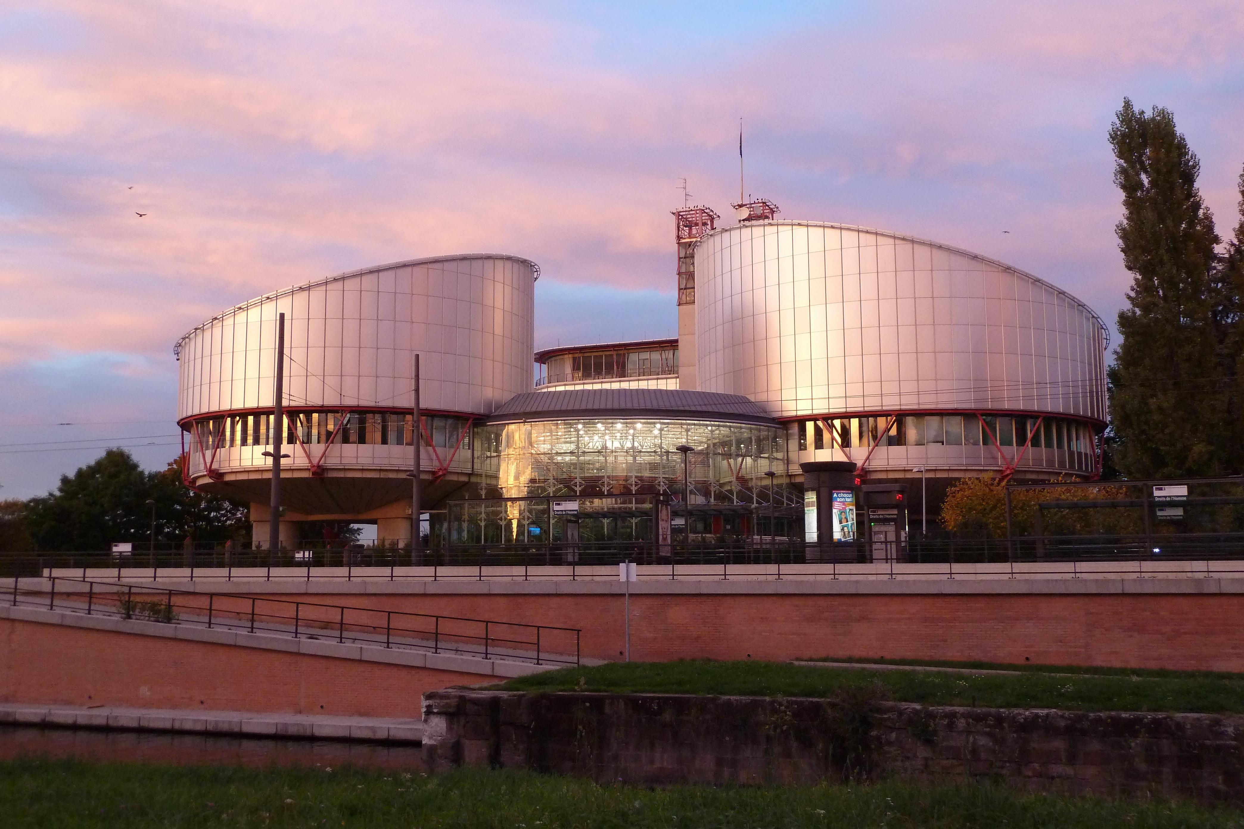 Стиль хай-тек в архитектуре: Европейский суд прав человека