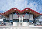 Стиль хай-тек в архитектуре терминала аэропорта Мадрида
