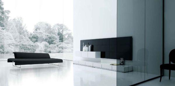 Стиль минимализм в интерьере комнаты