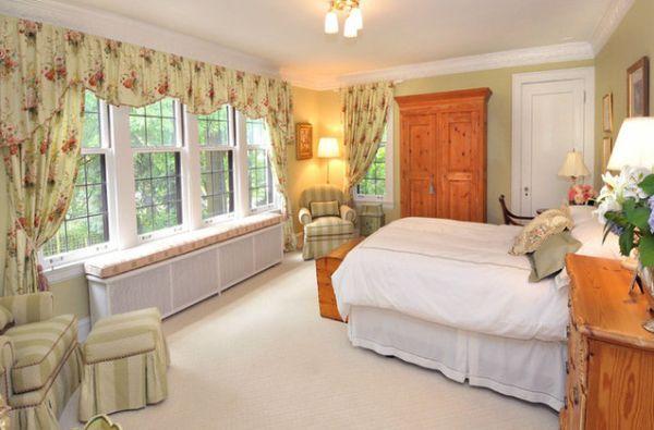 Элегантное оформление спальной комнаты