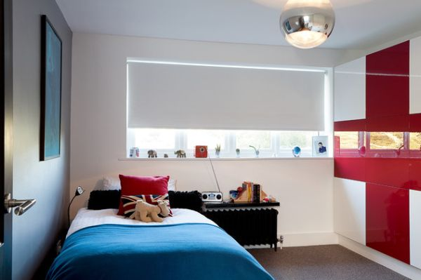 Спальная комната в стиле минимализм