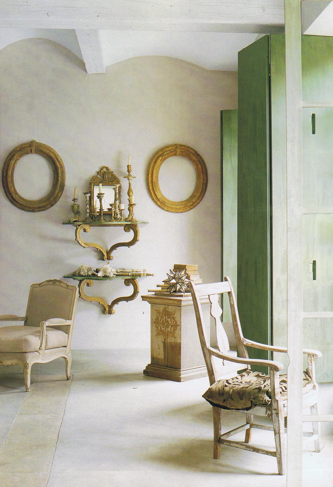 Стиль Прованс в интерьере: деревянная мебель