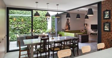 Интерьер столовой в стиле рококо
