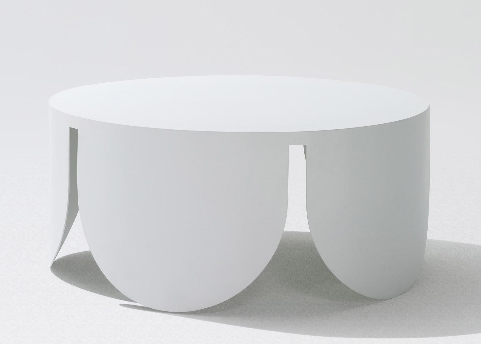 Кофейный стол с арками в белом цвете - Фото 4