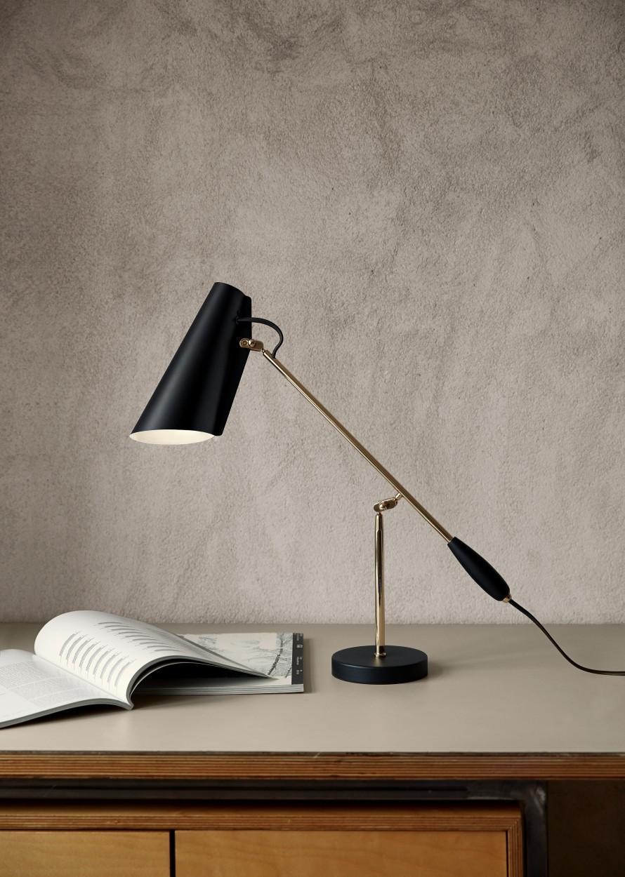 Дизайнерские настольные лампы: модель Birdy