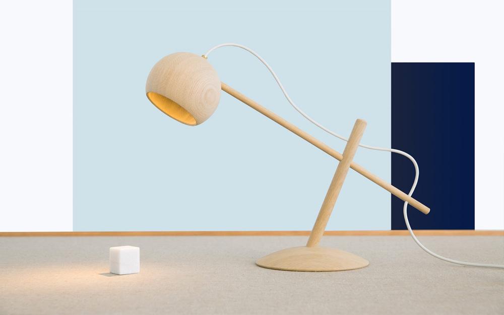 Дизайнерские настольные лампы: модель  Lune - фото 1