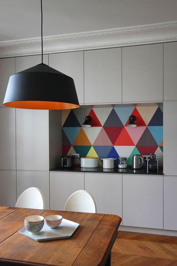 Стильные подвесные светильники в интерьере - Фото 1