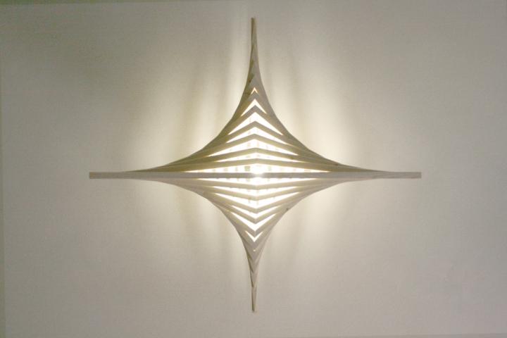 Умопомрачительный деревянный светильник от Benjamin Migliore