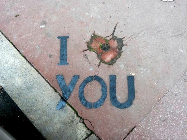 Original graffiti by street artist OakOak, Saint-Etienne, France