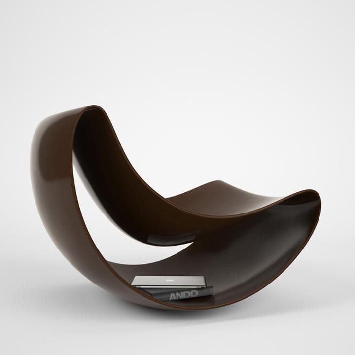 Креативный стул Lobule от Vasiliy Butenko