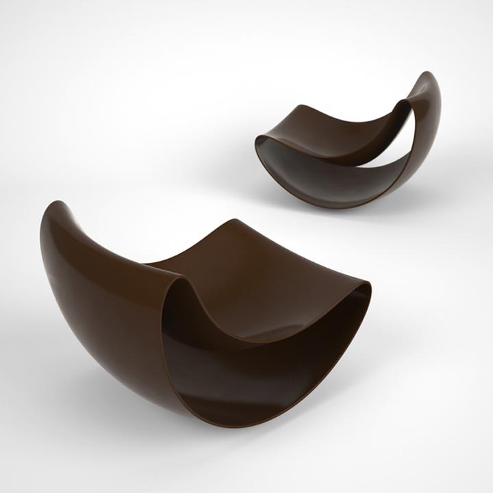 Необычные стулья Lobule от Vasiliy Butenko