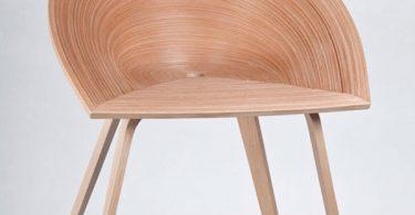 Японские мотивы в русском дизайне: лаконичный стул «Тамаши» от Анны Степанковой воплощает в себе древнюю философию
