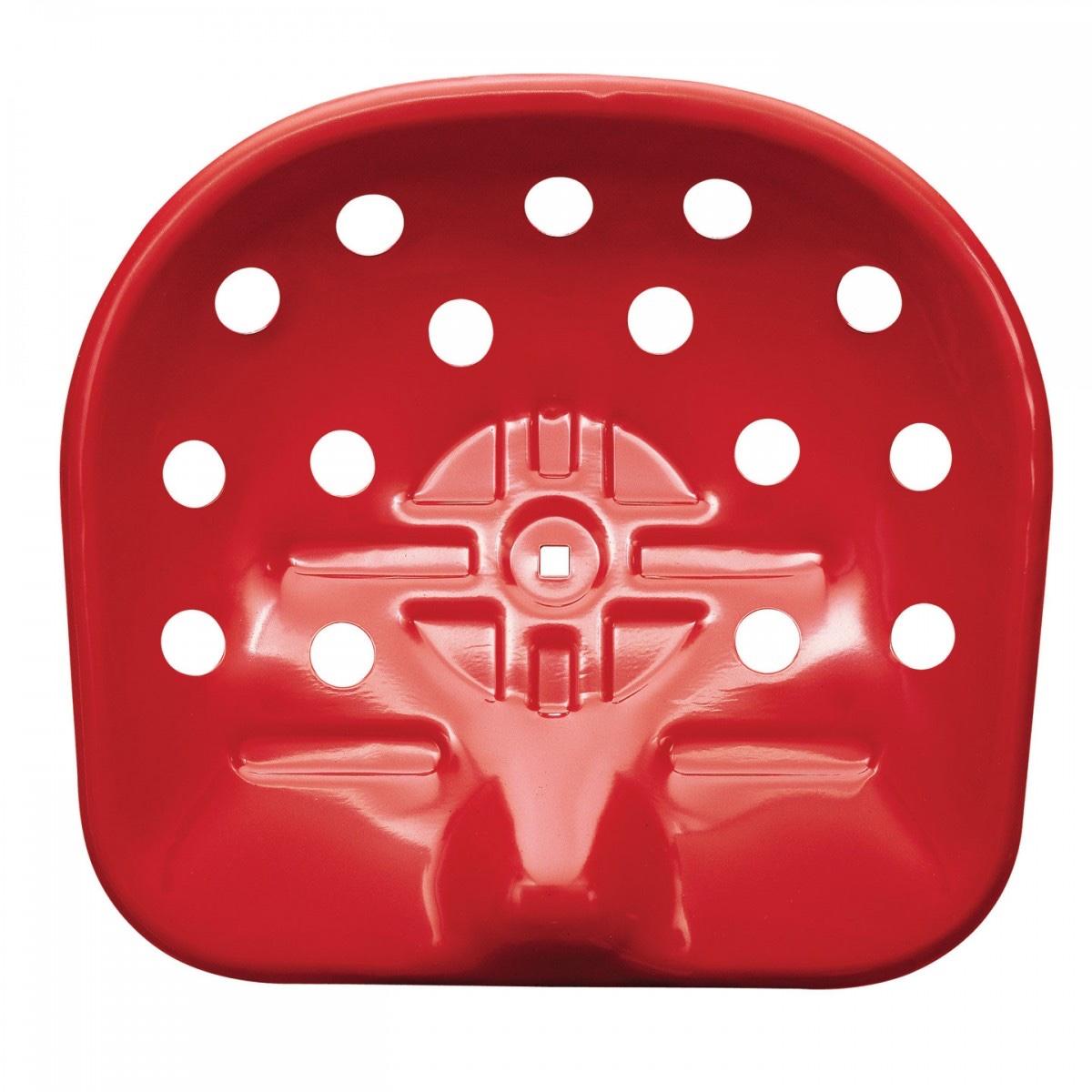 Красный стул 50-х годов - вид сверху