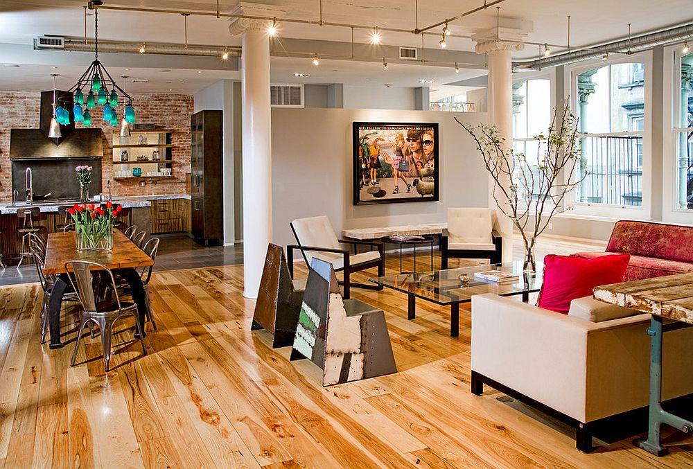 Стулья в интерьере квартиры-студии