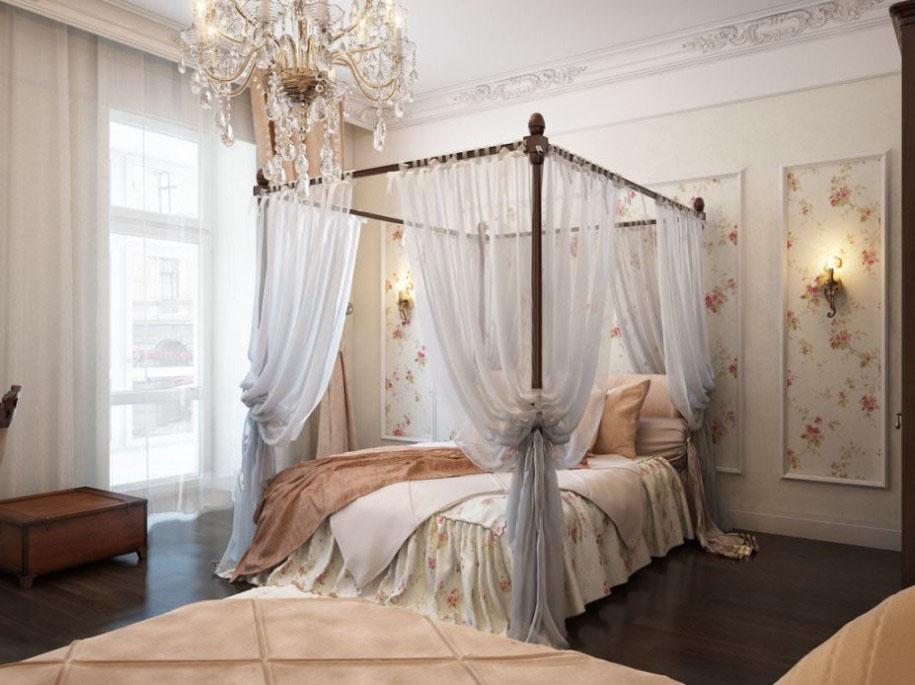 Балдахин на кровать своими руками фото