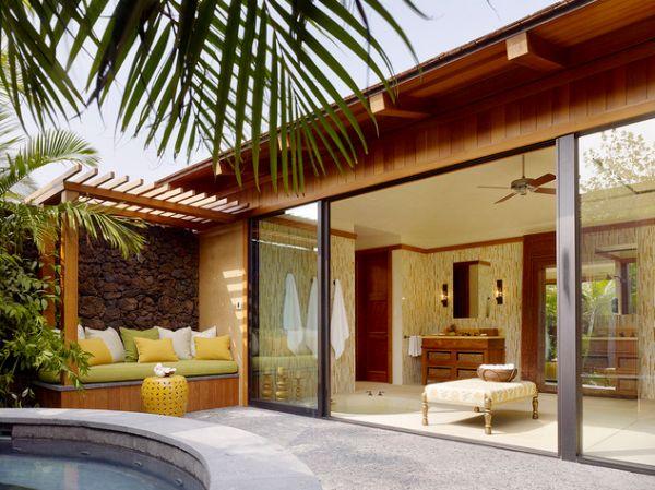 Хорошие раздвижные стеклянные двери в доме