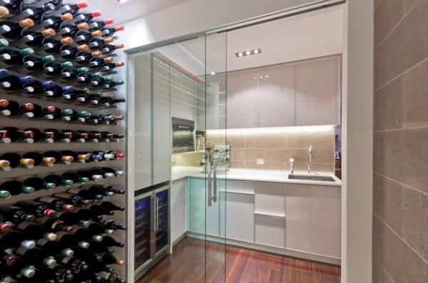 Первоклассные раздвижные стеклянные двери в доме