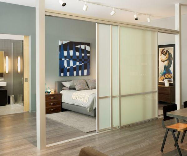 Удивительные раздвижные стеклянные двери в доме