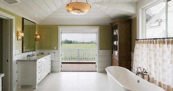 Уникальный дизайн интерьера ванной комнаты