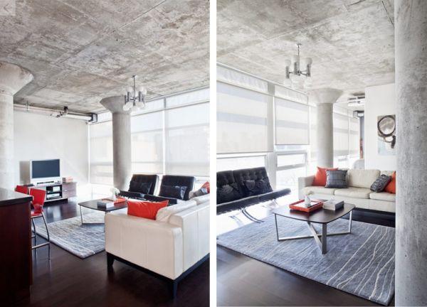 Роскошный дизайн интерьера гостиной зоны