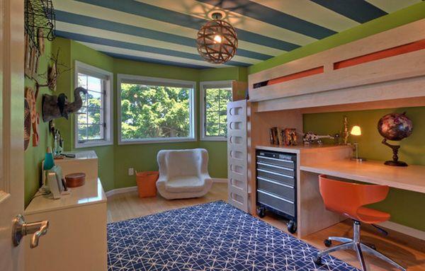 Чудный дизайн интерьера детской комнаты