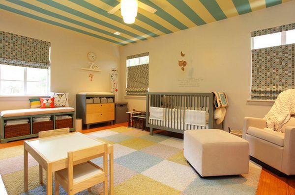 Красивый дизайн интерьера детской комнаты