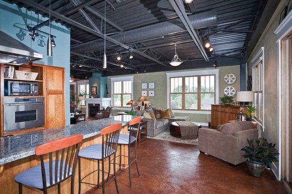 Дизайн интерьера кухонной зоны
