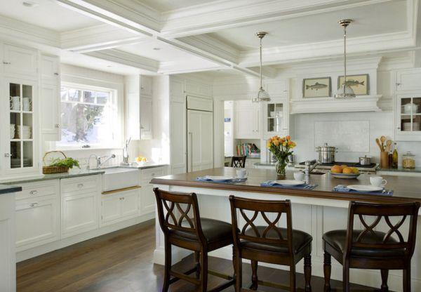 Современный дизайн интерьера кухонной зоны