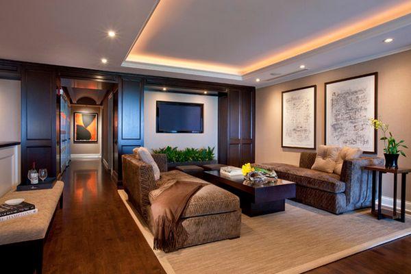 Чудный дизайн интерьера помещения
