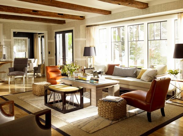 Головокружительный дизайн интерьера гостиной зоны
