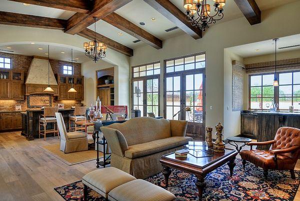 Изысканный дизайн интерьера помещения