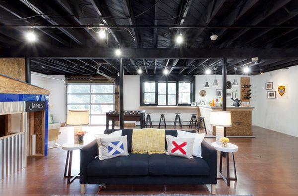 Дизайн интерьера гостиной зоны