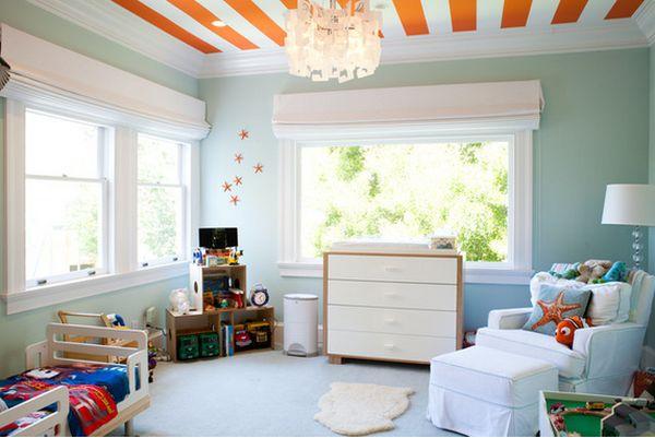 Прекрасный дизайн интерьера детской комнаты