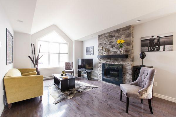 Прекрасный дизайн интерьера гостиной зоны