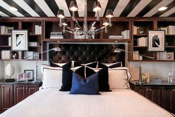 Креативный дизайн интерьера спальной комнаты