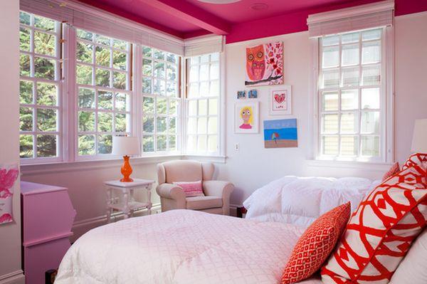 Удивительный дизайн интерьера детской комнаты