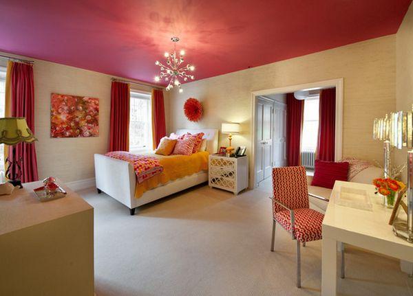 Яркий дизайн интерьера детской комнаты